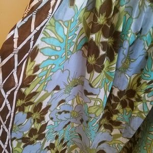 Tommy Bahama Swim - TOMMY BAHAMA FLORAL PRINT COVER UP. SIZE M/L